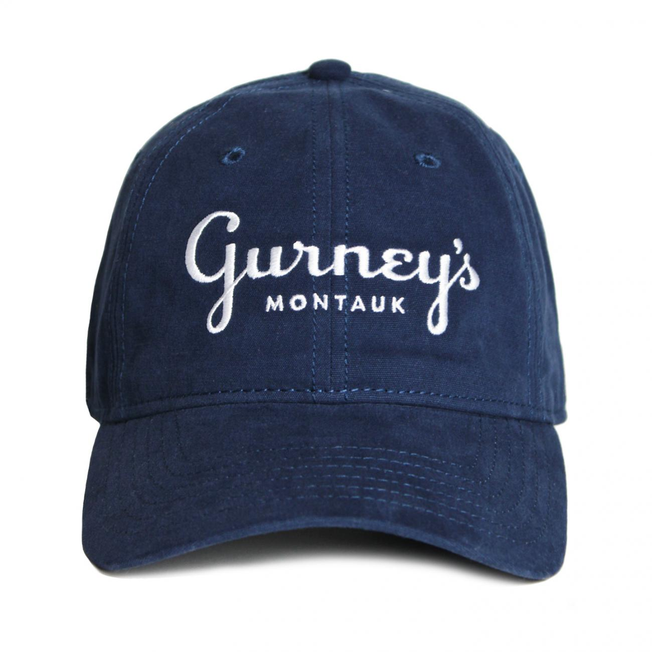 Gurney's Hats Embroidered front navy