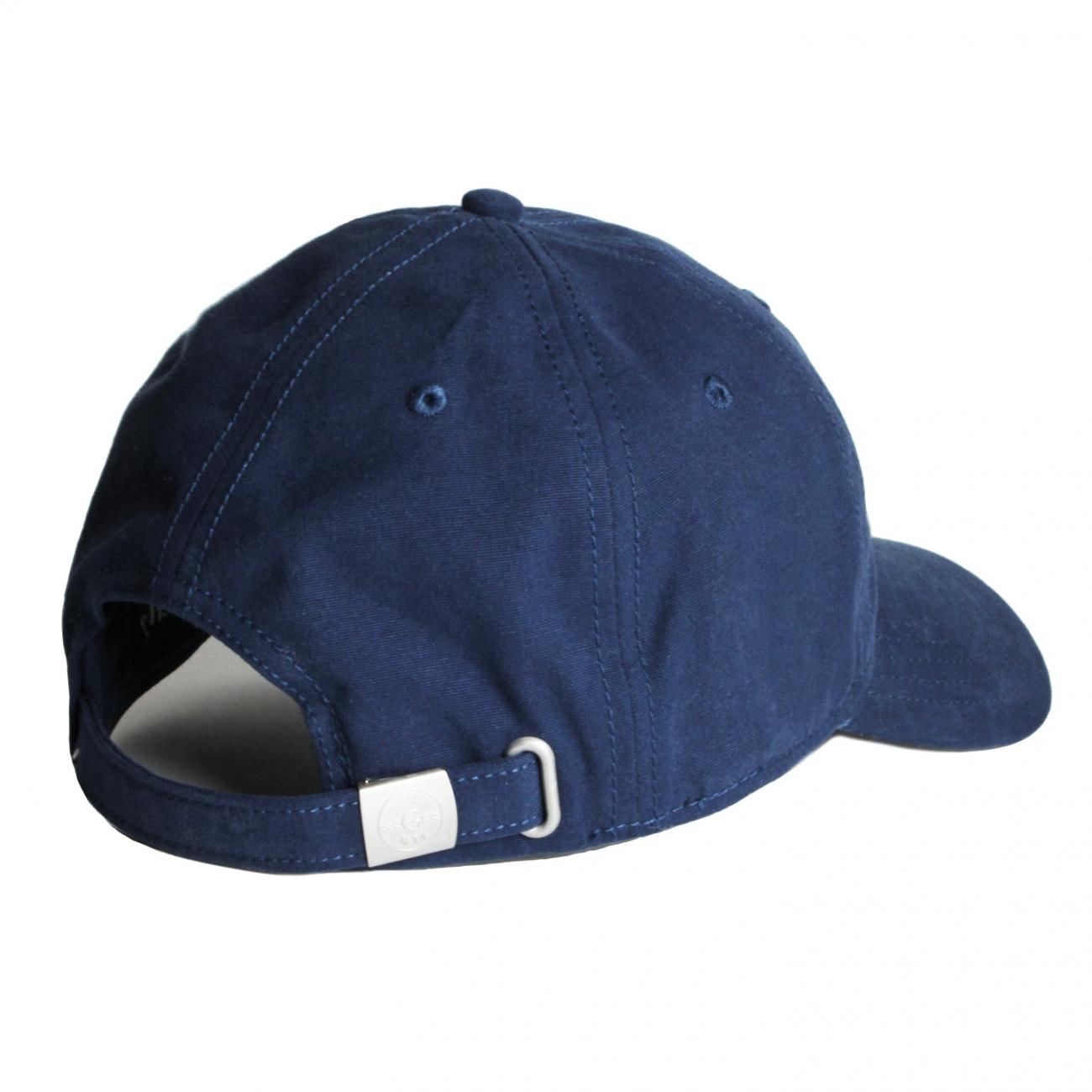 Gurney's Hats Embroidered back navy
