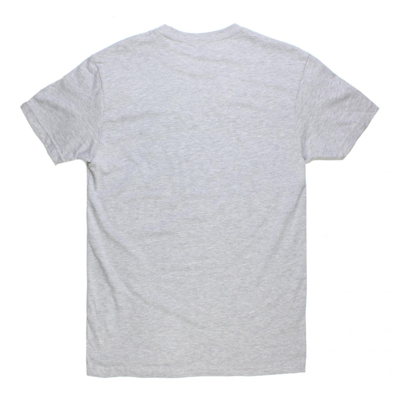 Gurney's T-shirt Screened across chest back grey